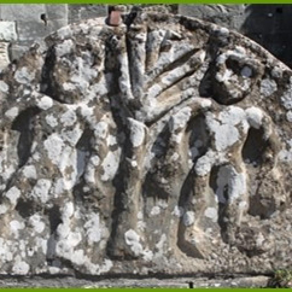 Le tympan d'Adam et Eve