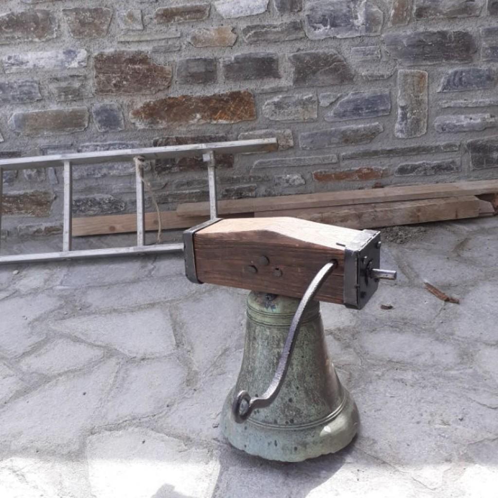 La cloche rénovée