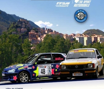 33ème Rallye Corte Centre-Corse