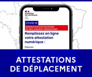 COVID 19: Attestations de Déplacement